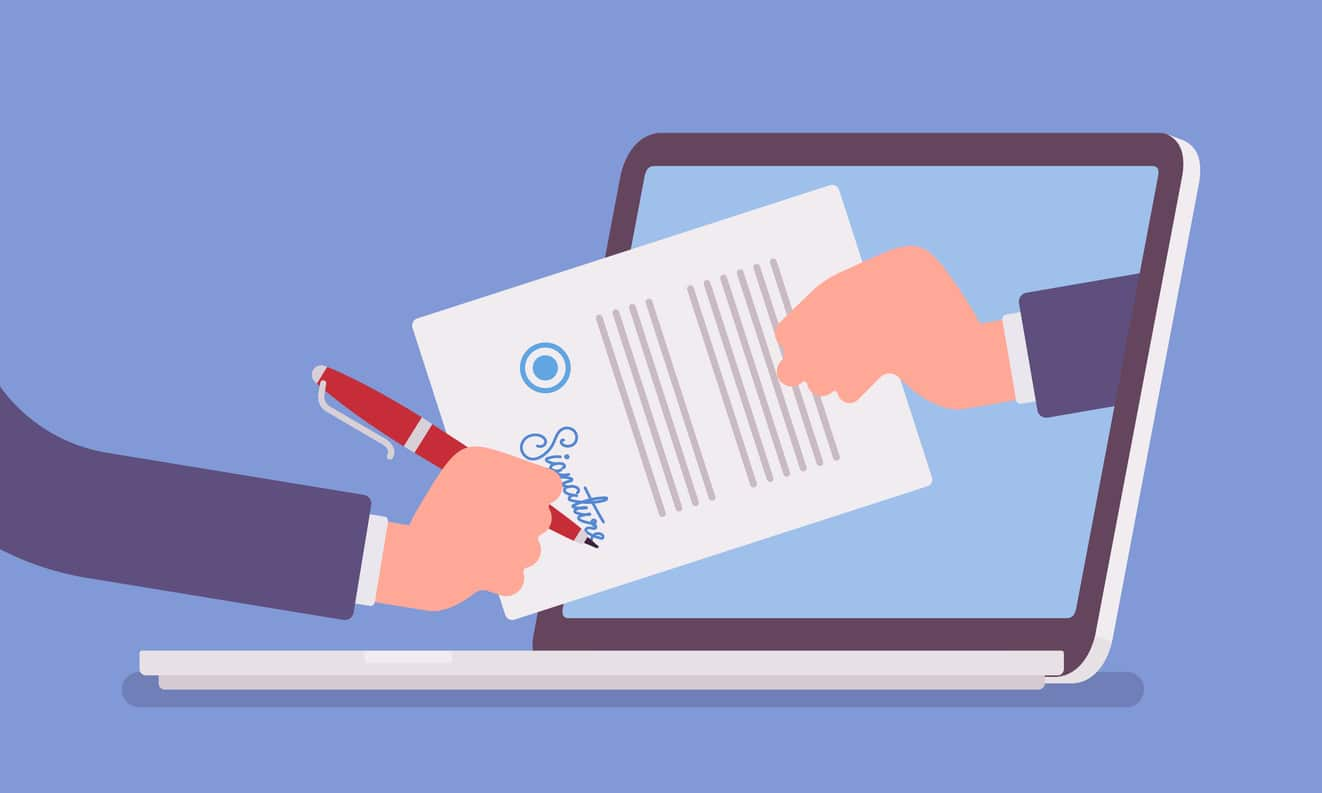 Three key benefits of digital document signing